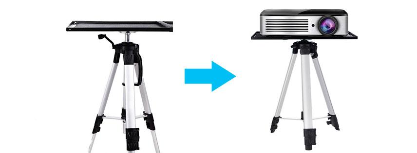 Soporte de piso tr pode para video proyectores - Soporte pared proyector ...