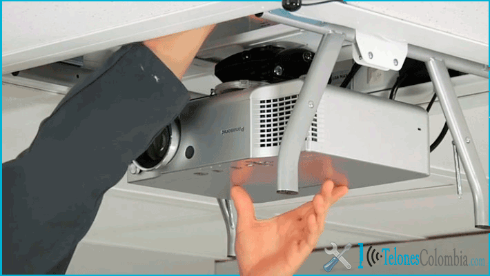 Telones colombia pantallas de proyecci n y soportes para - Soportes para proyectores ...